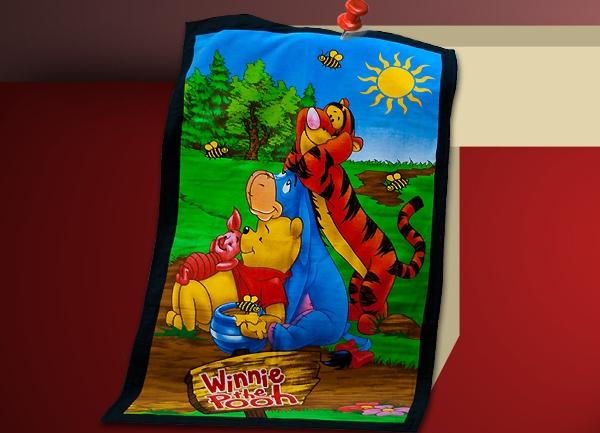Пляжное полотенце Winnie-the-Pooh