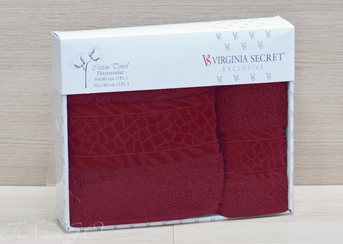 Набор полотенец Virginia Seсret Bordo