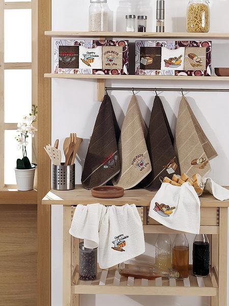 Набор вафельных полотенец Yagmur