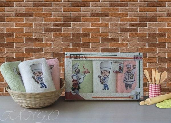 Набор кухонных полотенец Turkiz Cooks V3