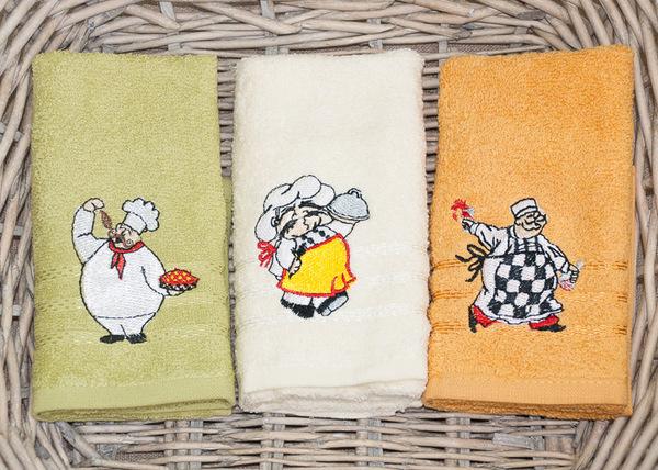 Набор кухонных полотенец Turkiz Cooks V1