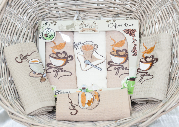 Набор кухонных полотенец DB Coffee