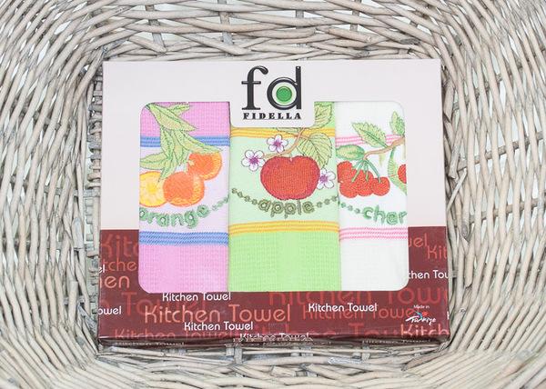Набор кухонных полотенец Fidella Fruits