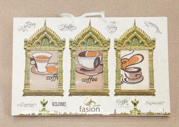 Набор кухонных полотенец Fasion Coffee