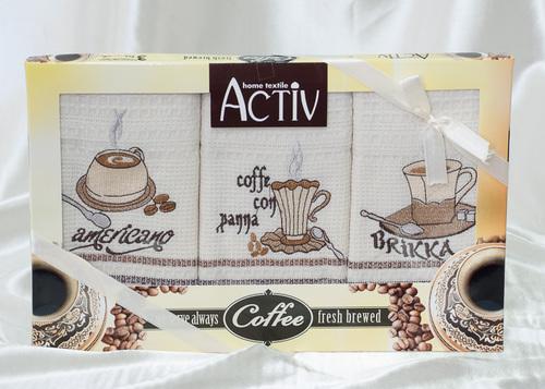 Набор кухонных полотенец Activ Coffee V5
