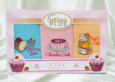 Набор кухонных полотенец Activ Cake House