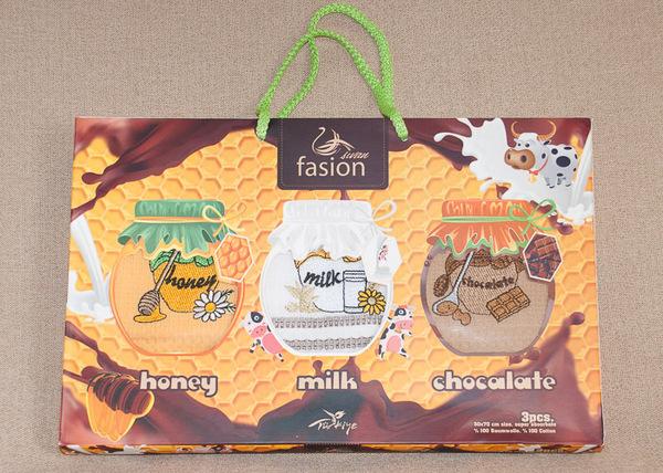 Набор кухонных полотенец Fasion Food V2