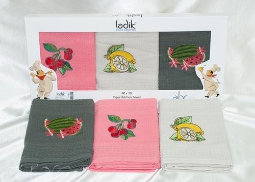 Набор вафельных полотенец Ladik