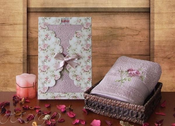 Полотенце махровое Tango Turkiz V2 Lilac