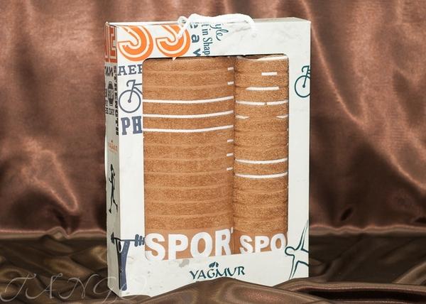 Набор полотенец Yagmur Sport V2 Brown