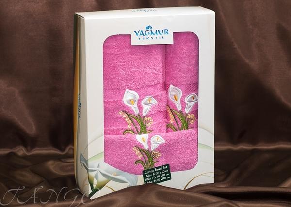 Набор полотенец Yagmur V4 Pink
