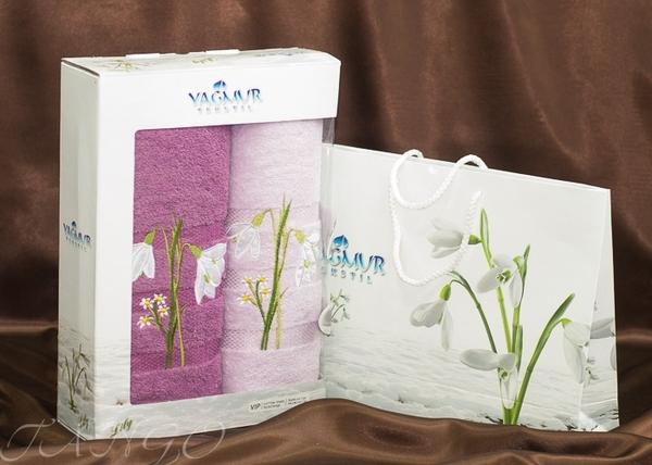 Набор полотенец Yagmur V11 Lilac