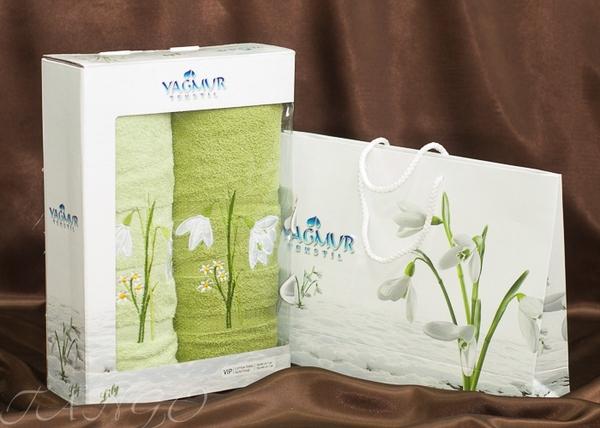 Набор полотенец Yagmur V11 Green