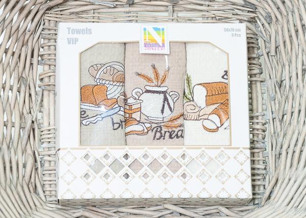 Набор кухонных полотенец Nilteks Bread V1