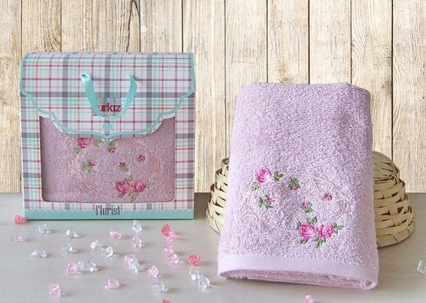 Полотенце махровое Tango Turkiz V1 Pink