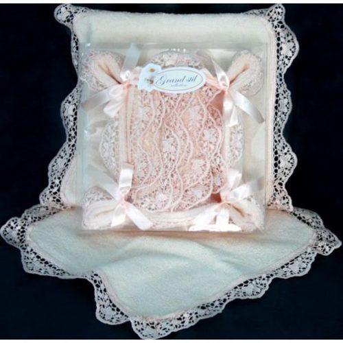 Подарочный набор Grand Stil Корзинка Шарлотка персиковый