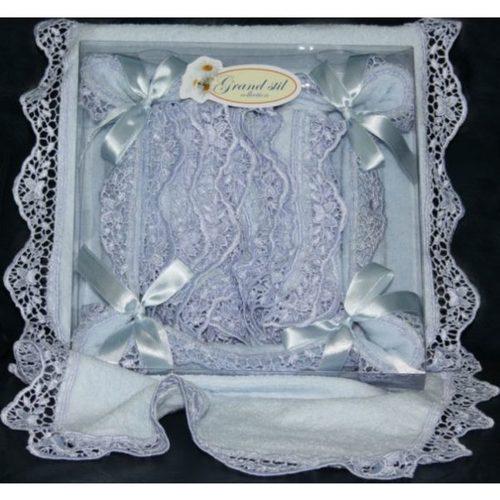 Подарочный набор Grand Stil Корзинка Шарлотка голубой
