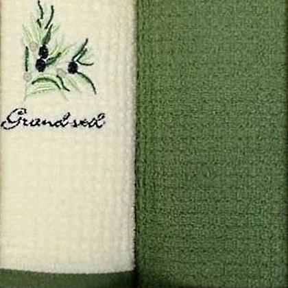 Набор полотенец Grand Stil Олива (без коробки)