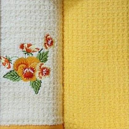 Набор полотенец Grand Stil Цветник Мак (без коробки)