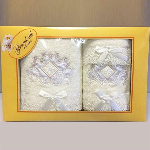 Набор полотенец Grand Stil Ваниль крем
