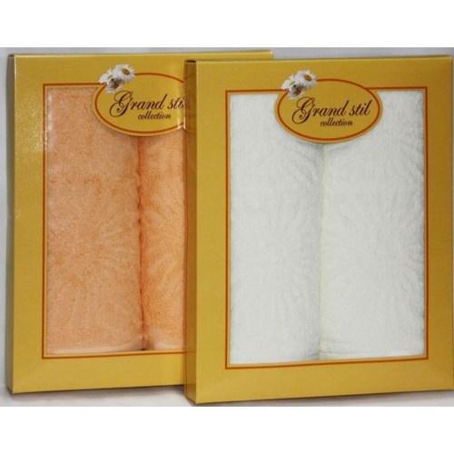 Набор полотенец Grand Stil Софи коралловый