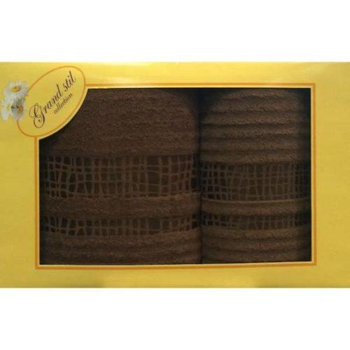 Набор полотенец Grand Stil Восторг шоколад