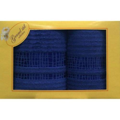 Набор полотенец Grand Stil Восторг синий