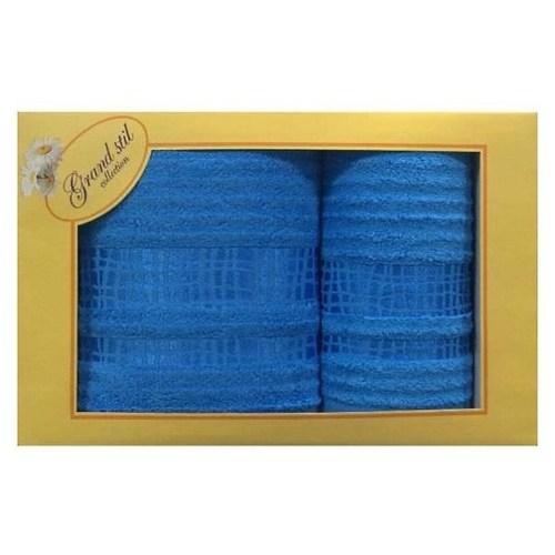 Набор полотенец Grand Stil Восторг голубой