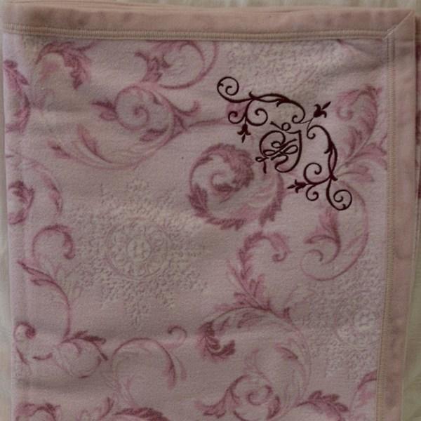 Простыня-покрывало KingSilk Velur Pink
