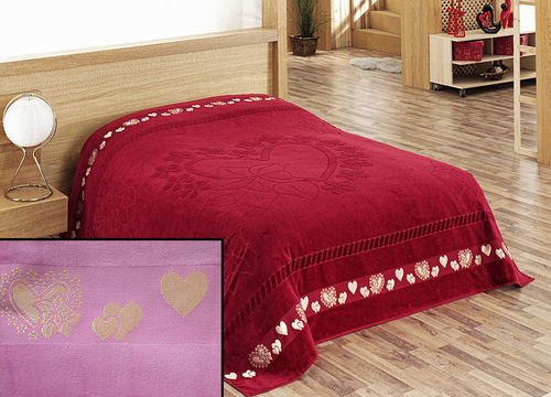 Простыня Tango Hearts Lilac prt004-12-160