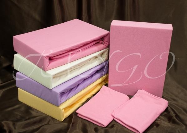 Простыня с наволочками Tango Jersey Pink