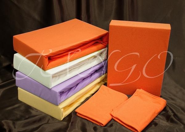 Простыня с наволочками Tango Jersey Orange