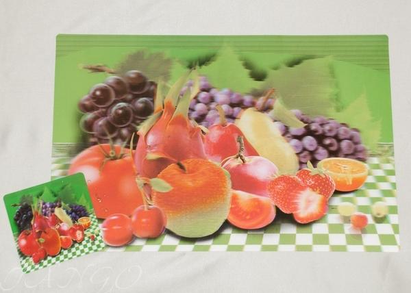 Набор салфеток с подстаканниками Tango Fruits V11