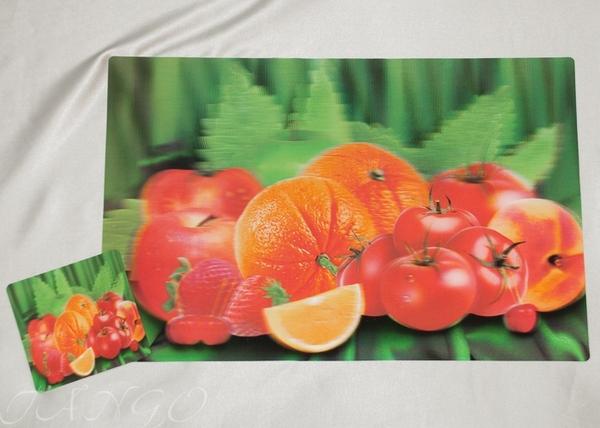 Набор салфеток с подстаканниками Tango Fruits V9