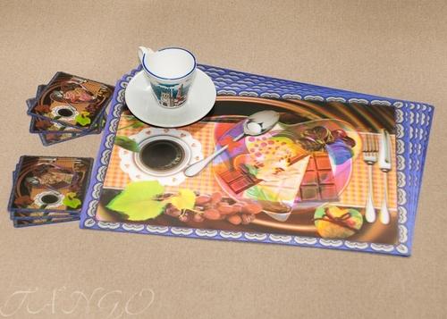 Набор салфеток с подстаканниками Tango Coffee V3