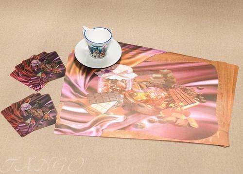 Набор салфеток с подстаканниками Tango Coffee V2