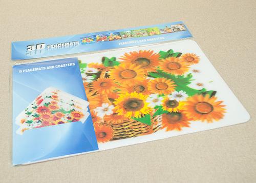 Набор салфеток с подстаканниками Tango Flowers V1
