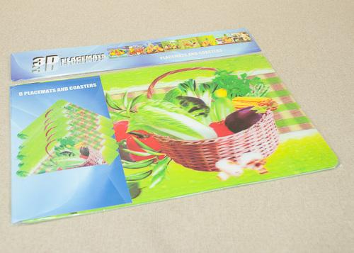 Набор салфеток с подстаканниками Tango Vegetables V3
