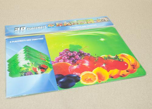 Набор салфеток с подстаканниками Tango Fruits V3