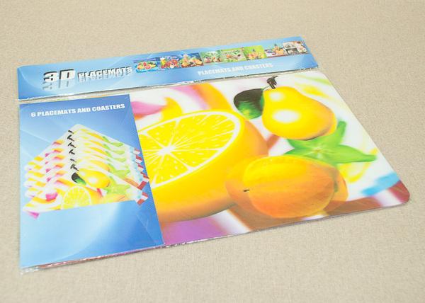 Набор салфеток с подстаканниками Tango Fruits V1