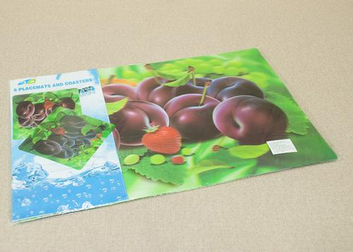 Набор салфеток с подстаканниками Tango Fruits V5