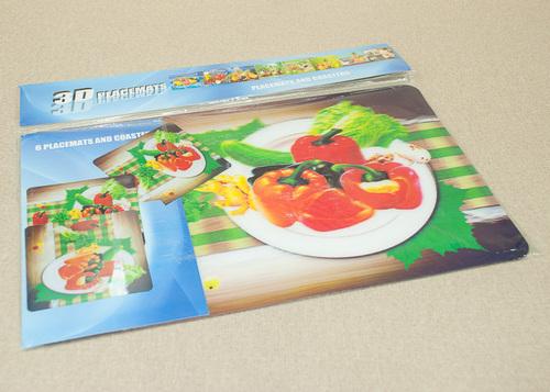 Набор салфеток с подстаканниками Tango Vegetables V1