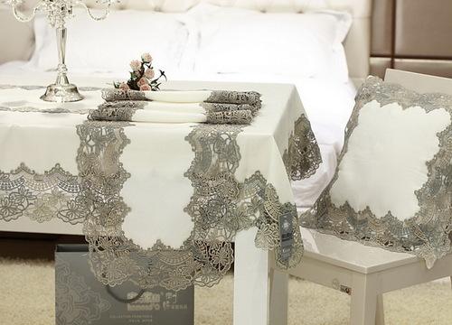 Скатерть-салфетка 60х60 Решелье Linen
