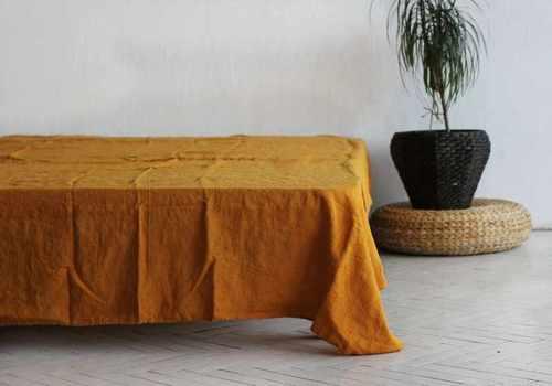 Льняная простыня 230х240 см Amber Sleep