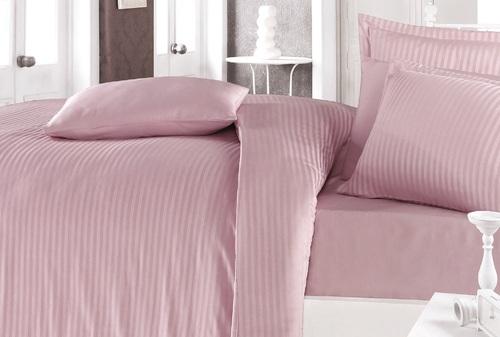 Постельное белье Clasy STRIPE SATIN Pink