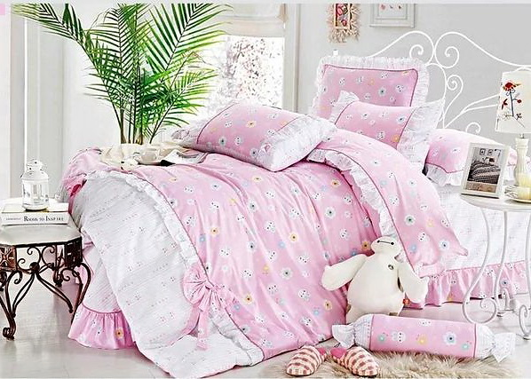 Постельное белье Provance White/Pink