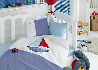"""Детское постельное белье """"Bebe"""" Ship"""
