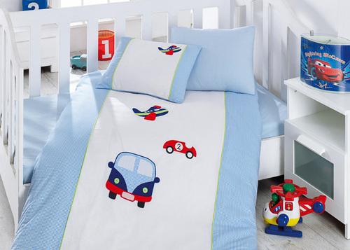 """Детское постельное белье """"Bebe"""" Cars"""