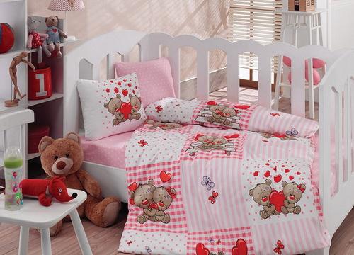 """Детское постельное белье """"Bebe"""" Bears"""