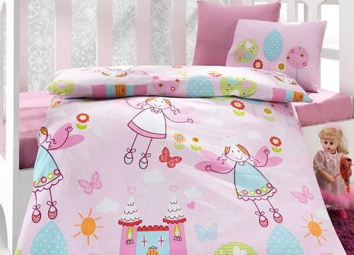"""Детское постельное белье """"Bebe"""" Princess"""